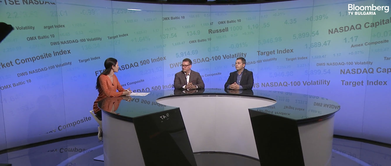"""Interview for Bloomberg TV Bulgaria: """"Is it possible to digitize legal services and what are the advantages of it?"""""""
