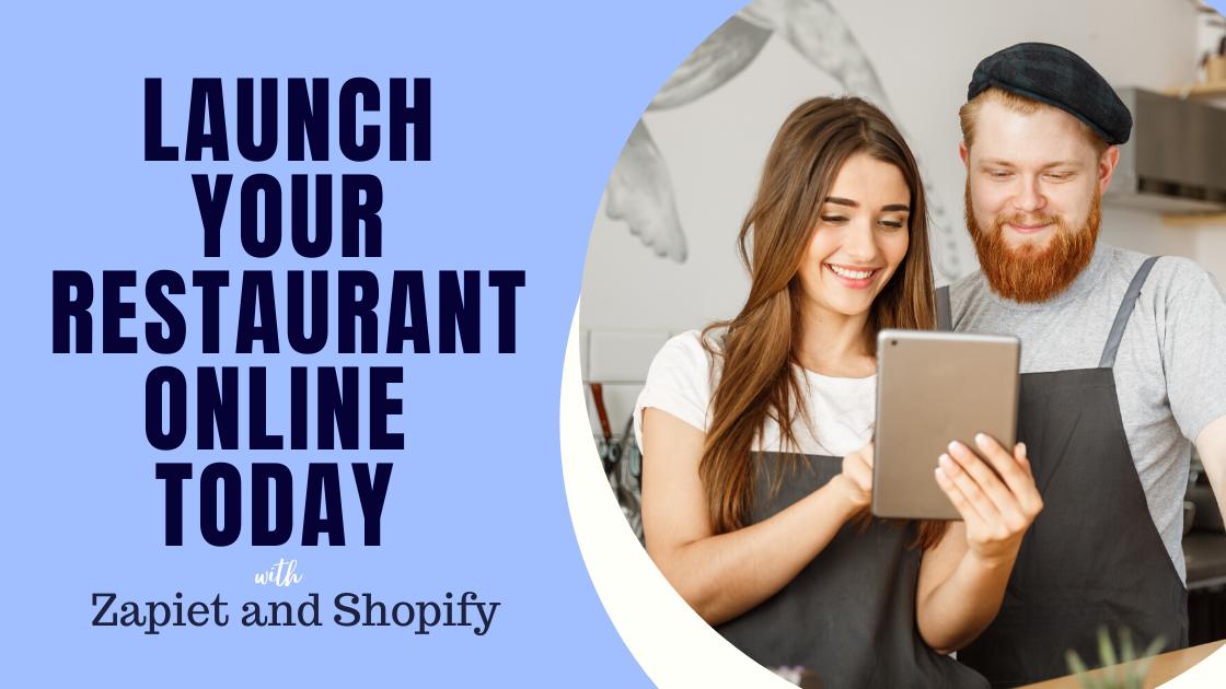 Lanza tu restaurante en línea con recogida en la tienda + entrega y Express para Shopify