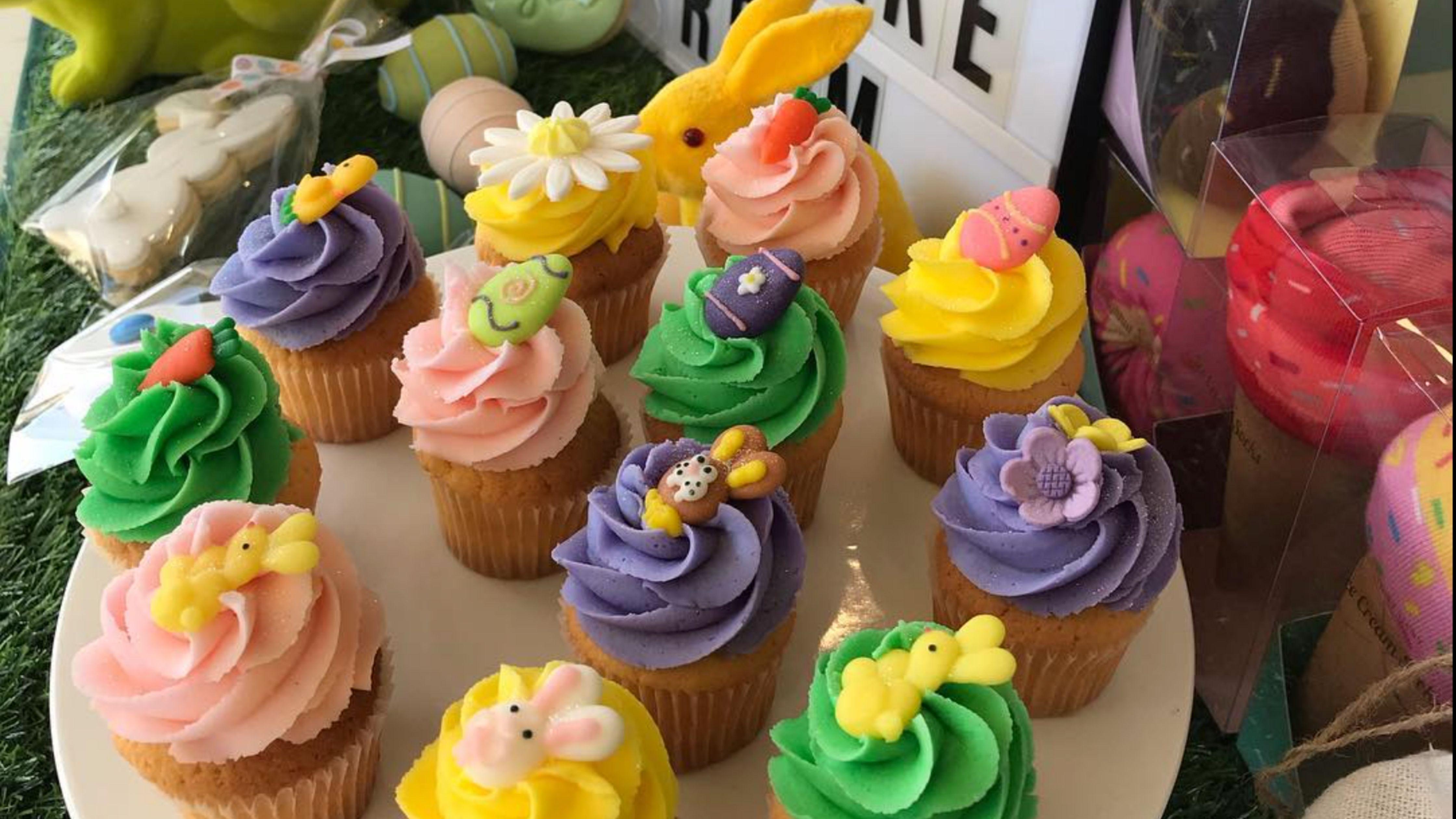 cupcakes de pascua de the cupcake room en australia