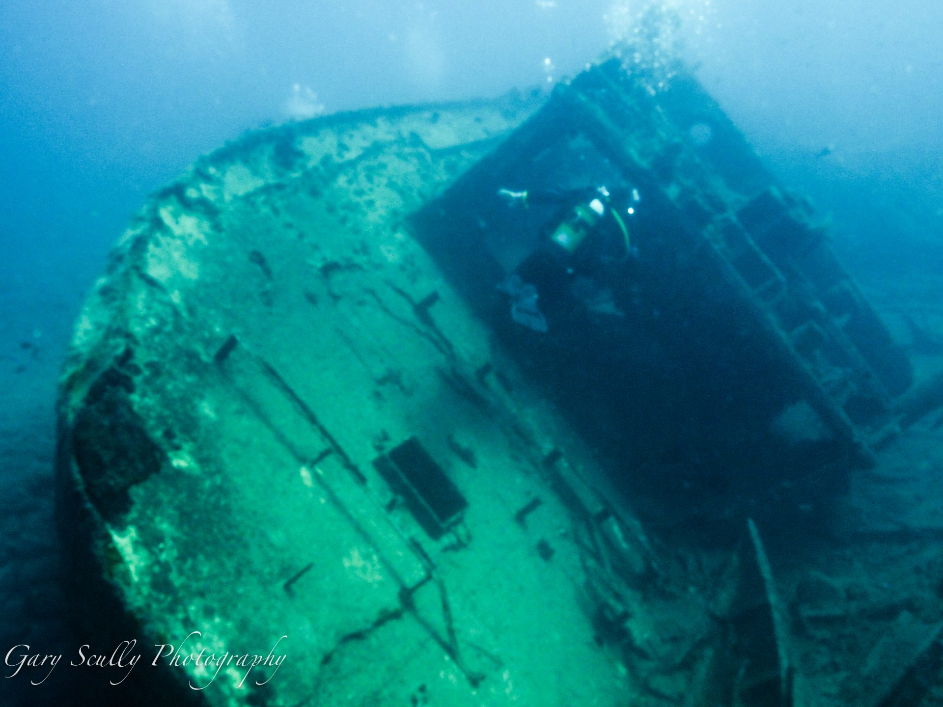 Our wreck dives