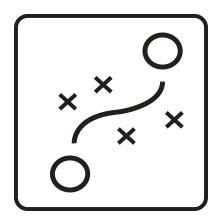Obstacle Avoidance Icon