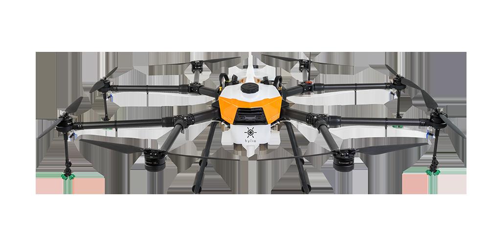 Large crop spraying drone