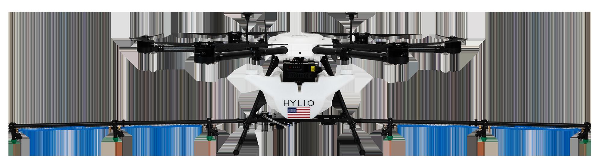 Medium crop spraying drone