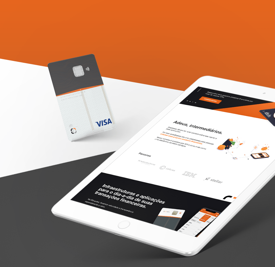 Bit Capital - Website and Credit Card Design
