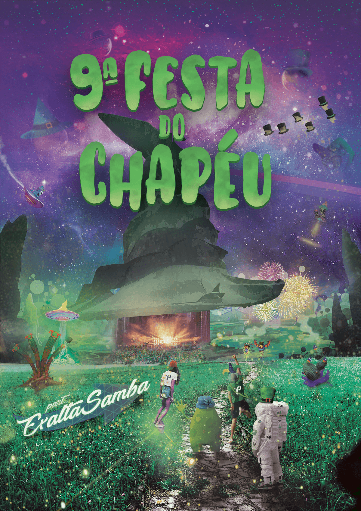 Festa do Chapeu 2018 - Full Event Branding