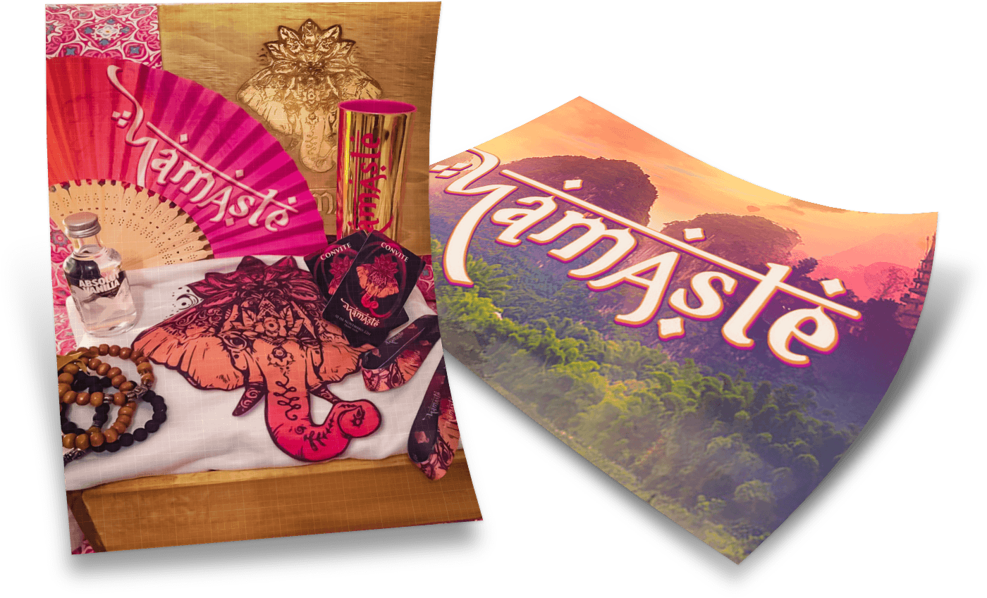 Namaste, A Magical Experience - Full Event Branding