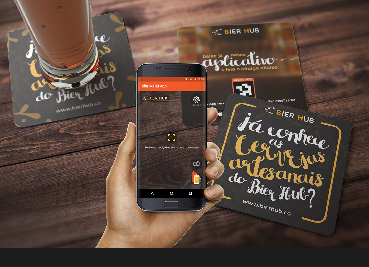 Bierhub - Augmented Reality Beer App
