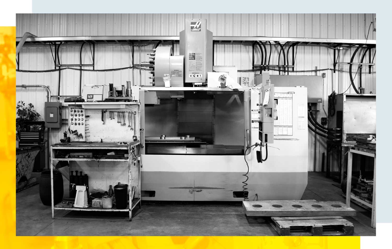Orion Machining & Design equipment