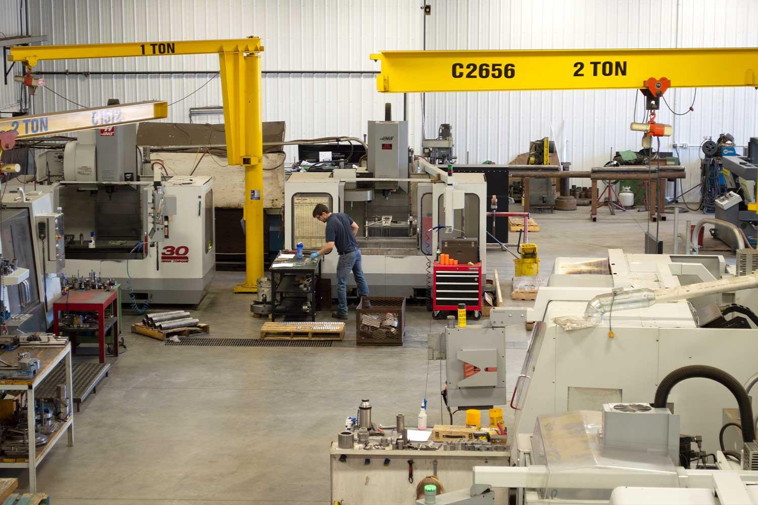 Orion Machining and Design shop