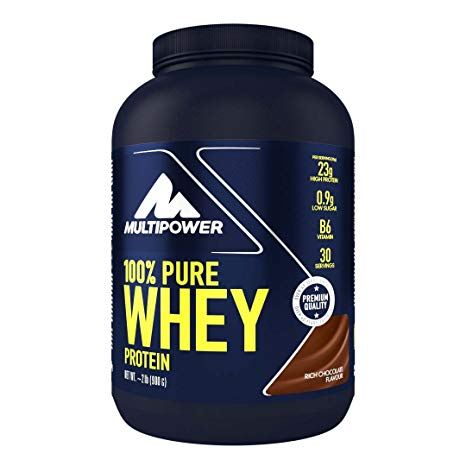 flacone di proteine multipower