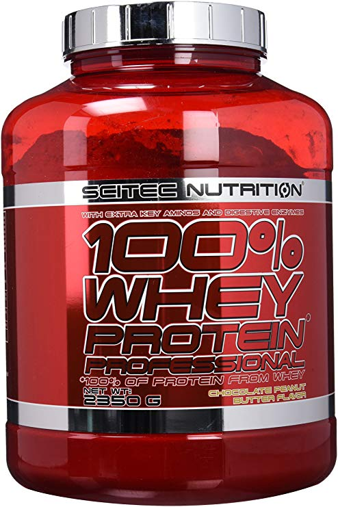 flacone di proteine scitec nutrition