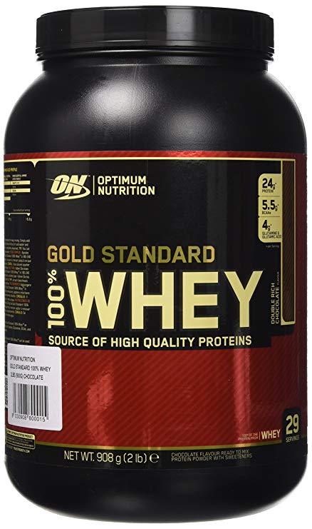 flacone di proteine optimum nutrition
