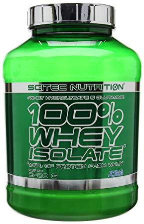 flacone di scitec nutrition isolate