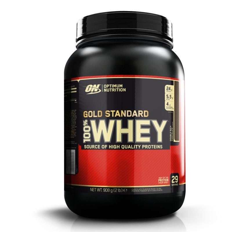 flacone di proteine optimum gold standard