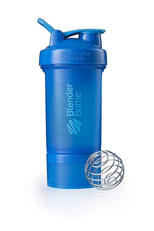 blender bottle prostak blu in primo piano