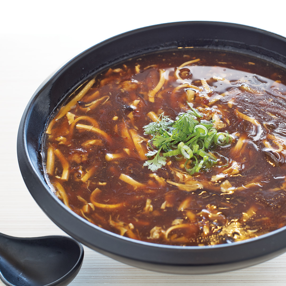 Hot & Sour Soup w/ Pork