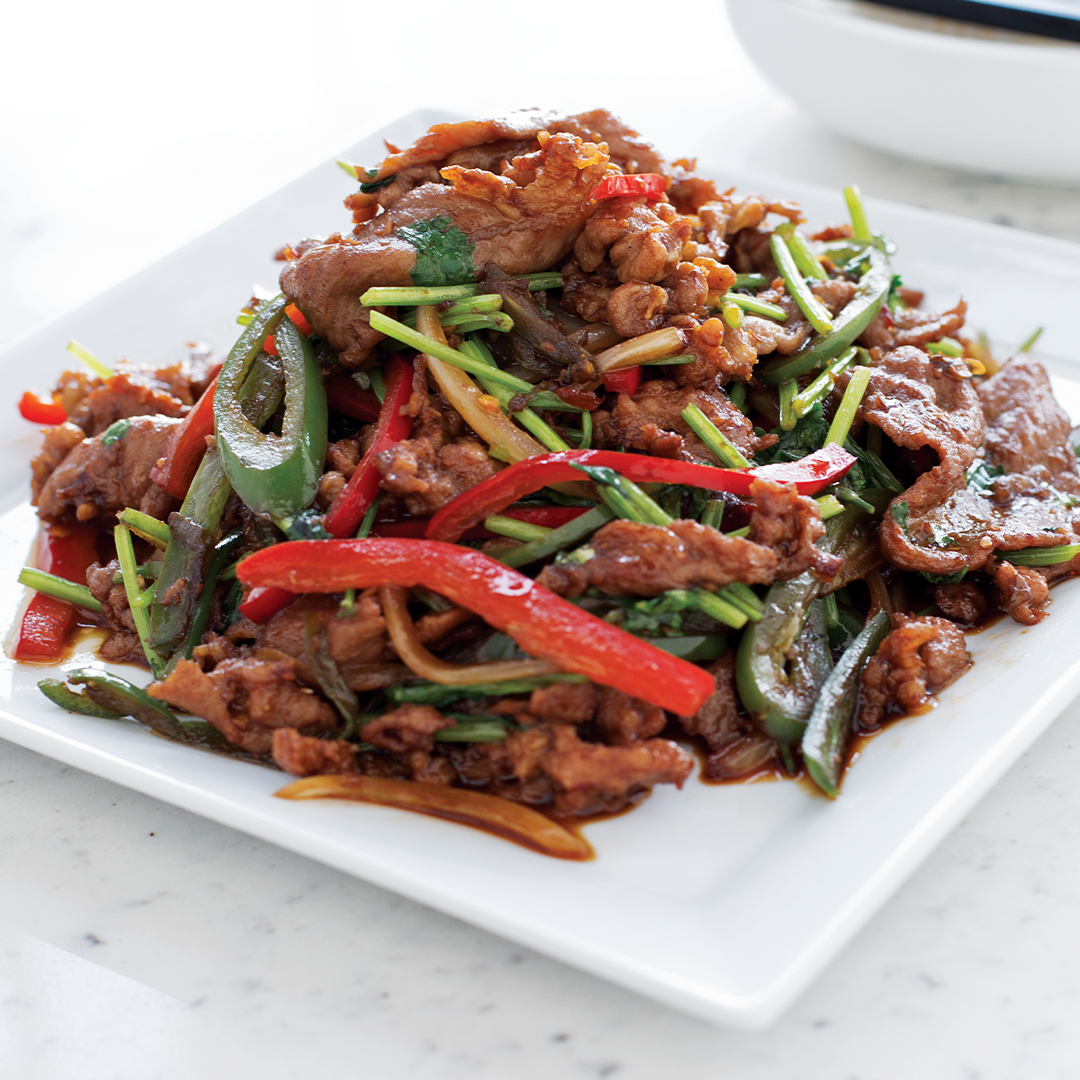 Shredded Beef w/ Dried Chili