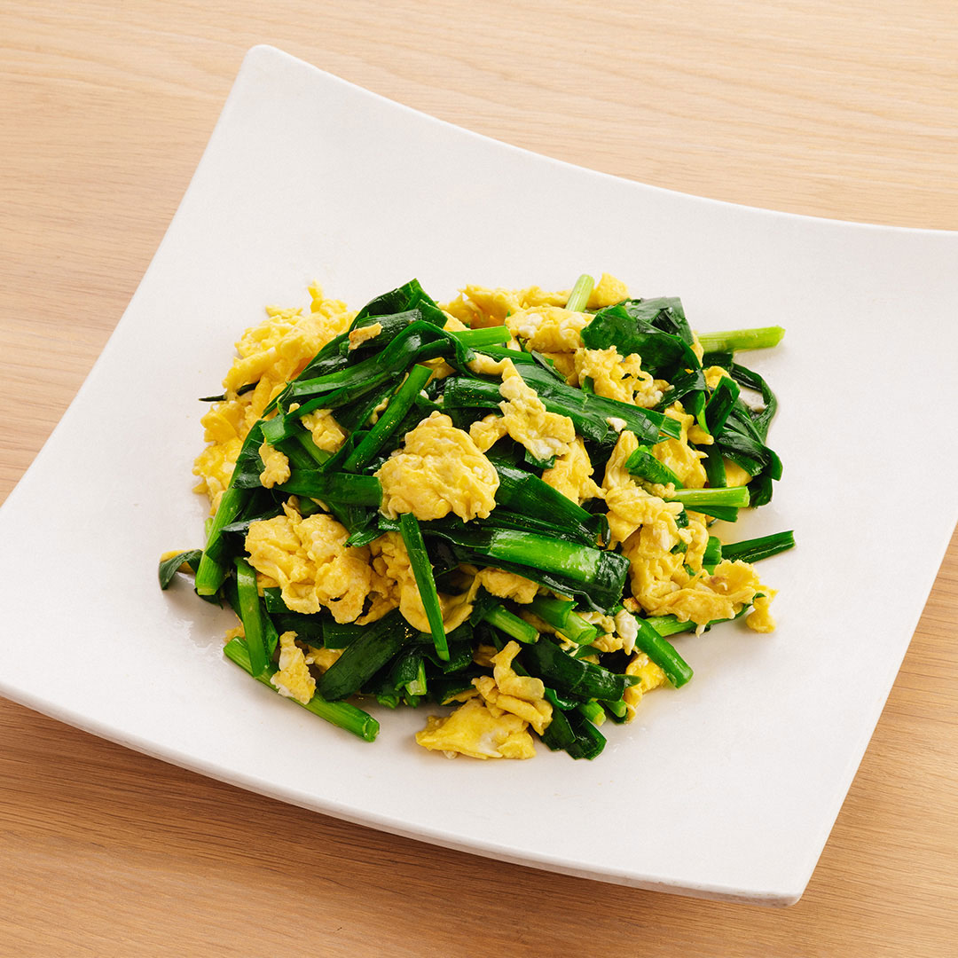 Chinese Chives w/ Scrambled Eggs