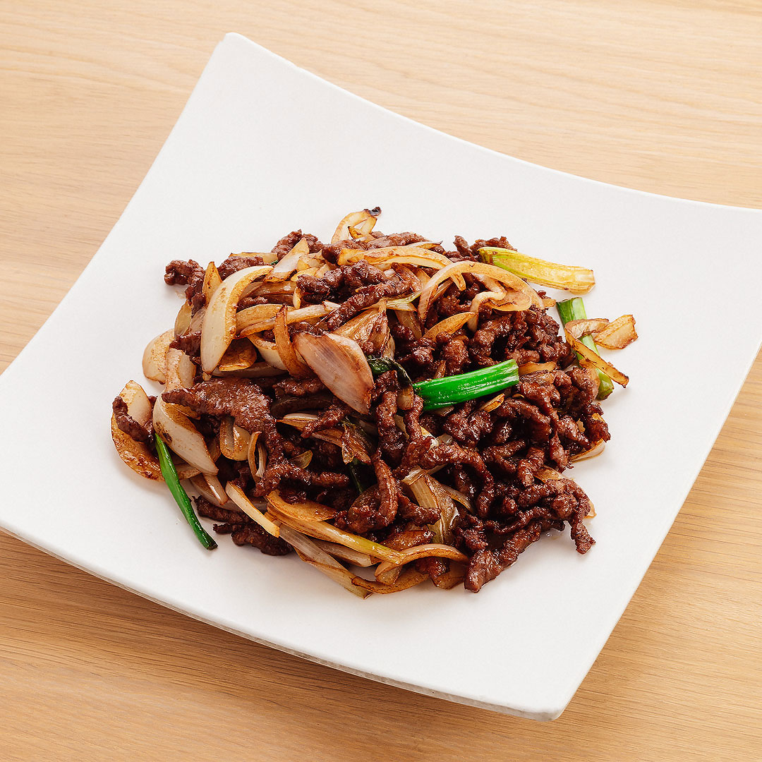 Ginger Scallion Beef