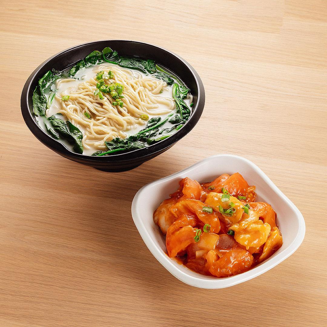 Tomato Fish Noodle Soup