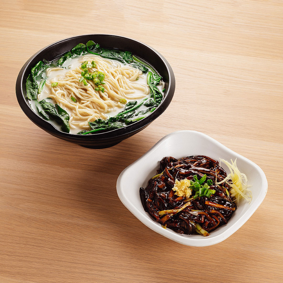 Yellow Eel Noodle Soup / Lo Mein