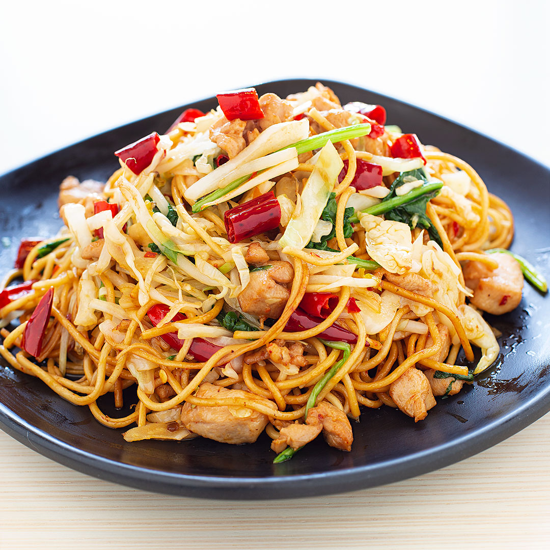 House Spicy (Chicken/Beef) Chow Mein