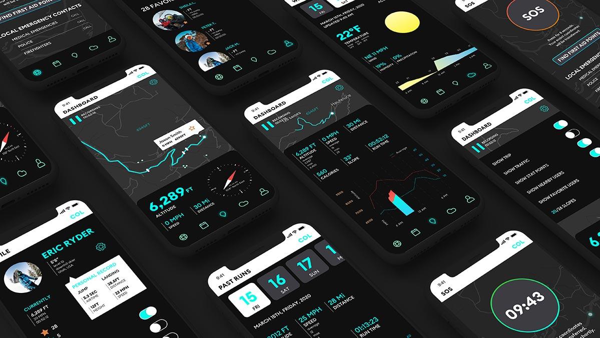 Col Mobile App, by Olivia Larsen