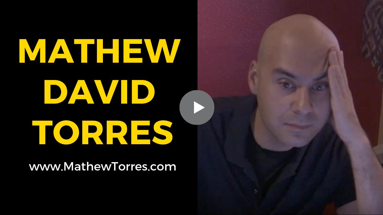 Mathew David Torres - Paper Cuts clip