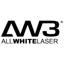 all white laser