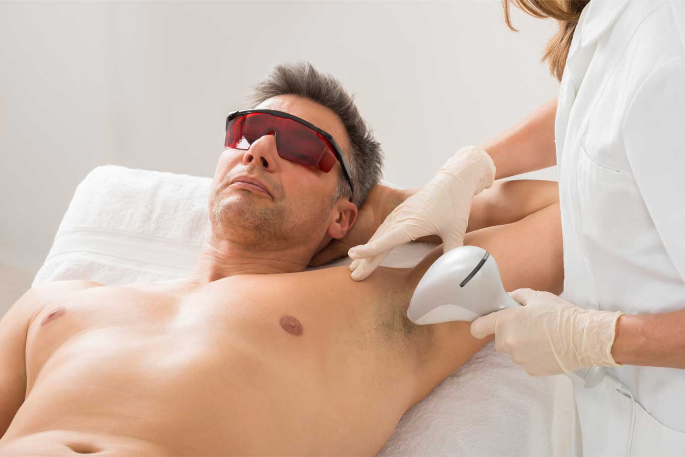 Male Half Body Laser Hair Removal