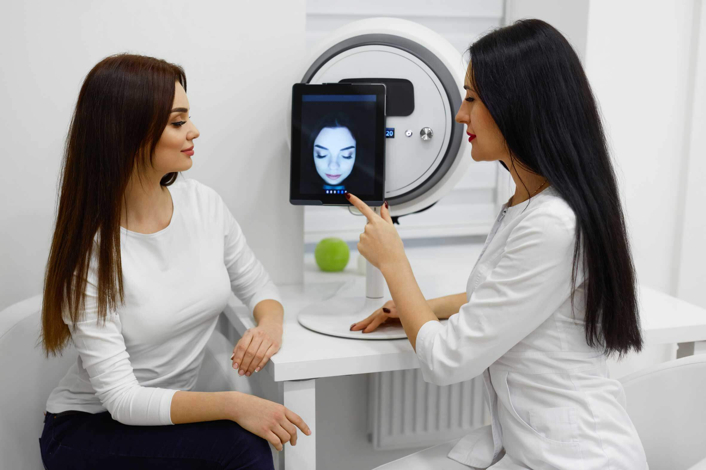 Skin Analysis Face