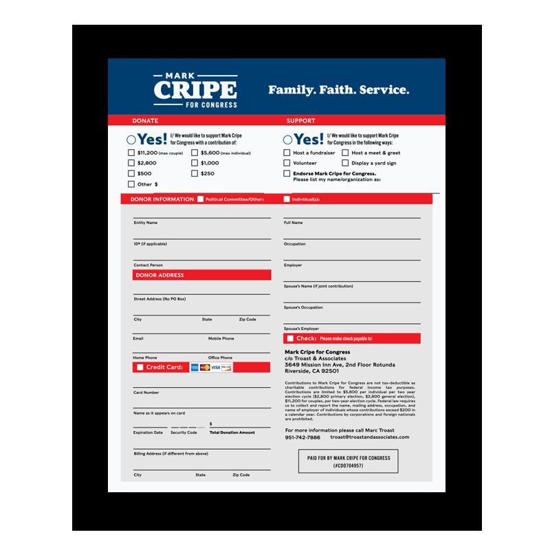 Download Donation Sheet