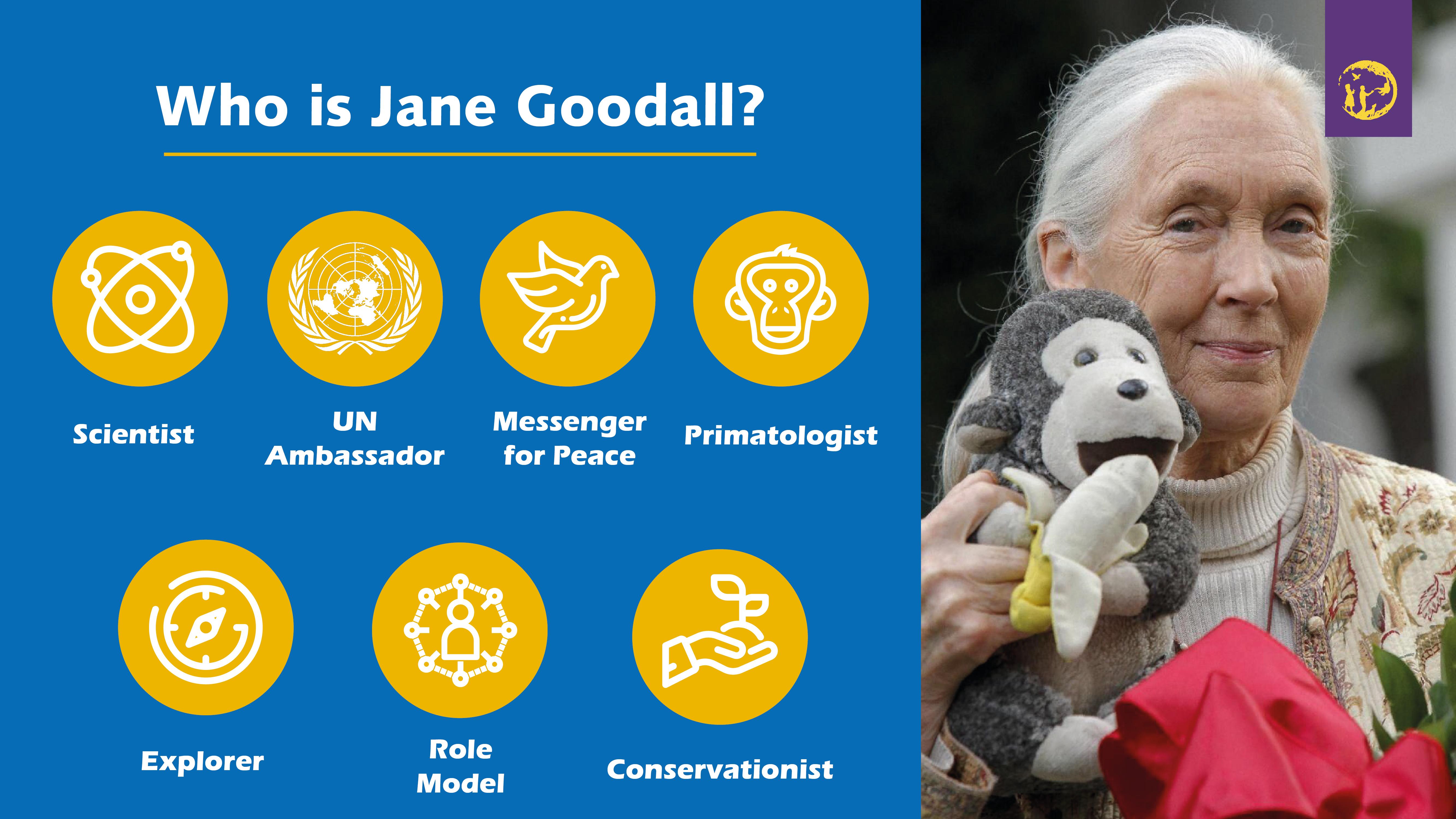 Purple Banana Jane Goodall Institute Slide