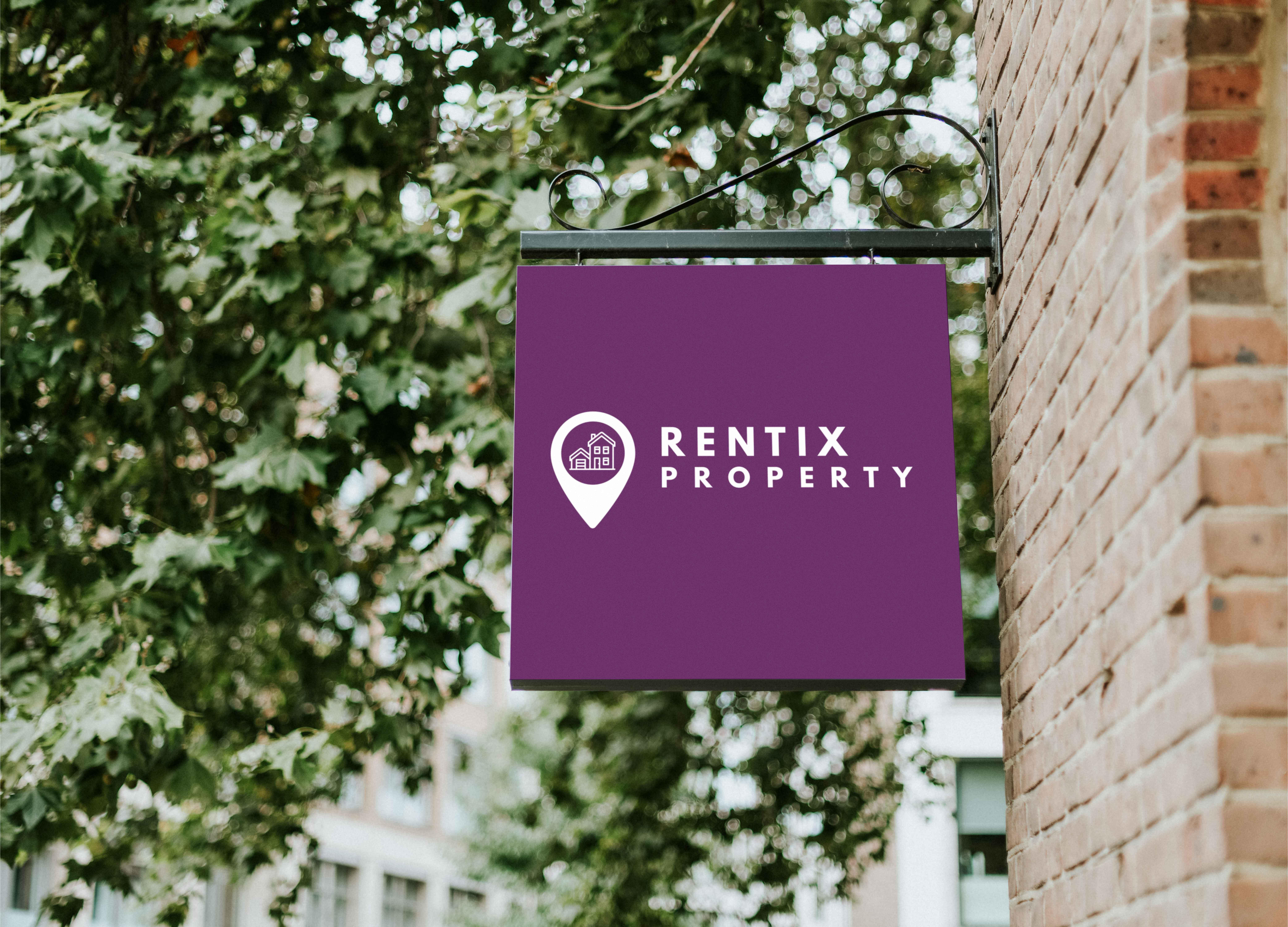 Rentix Property sign