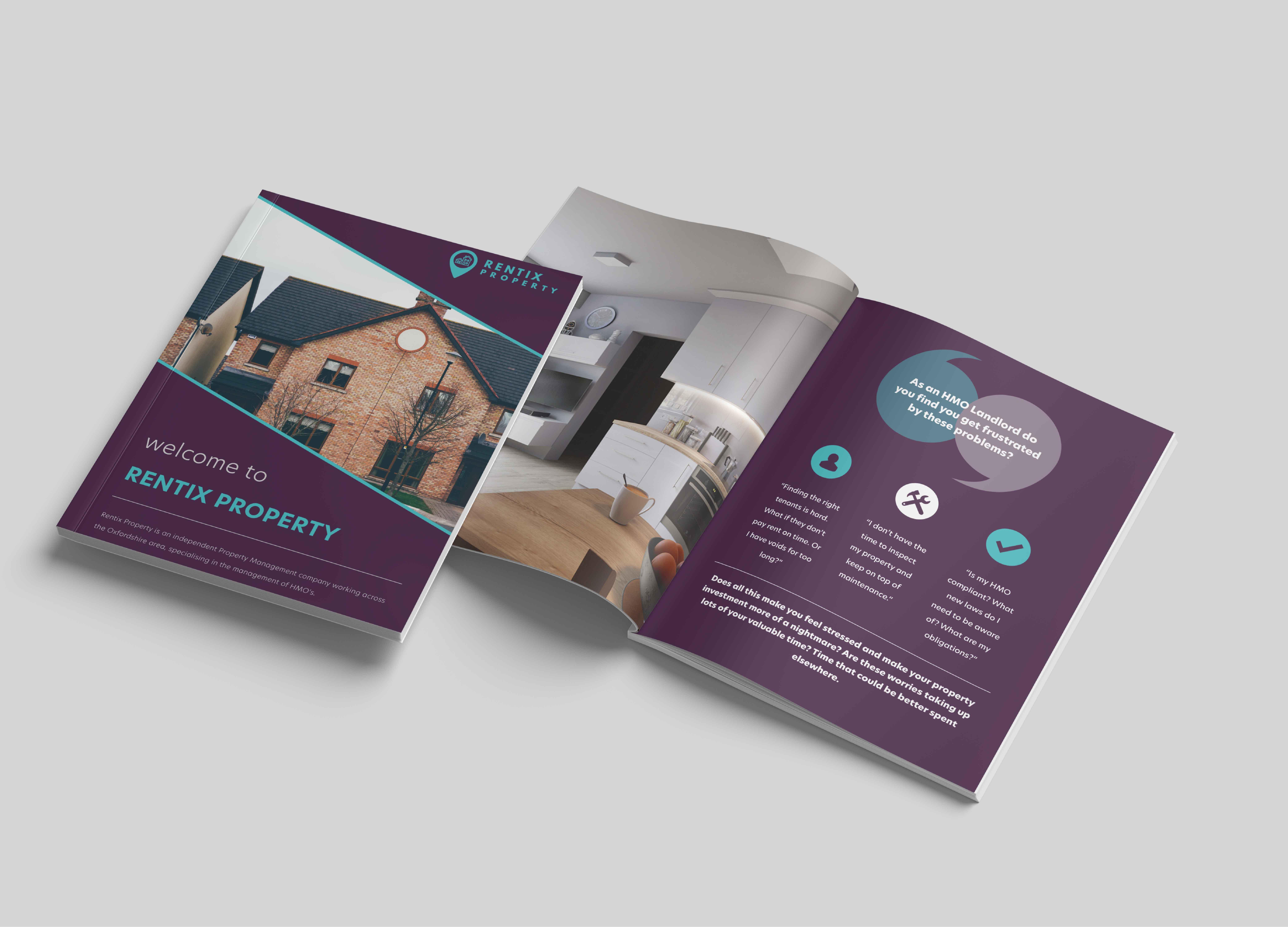 Rentix Property A4 Portrait Brochure