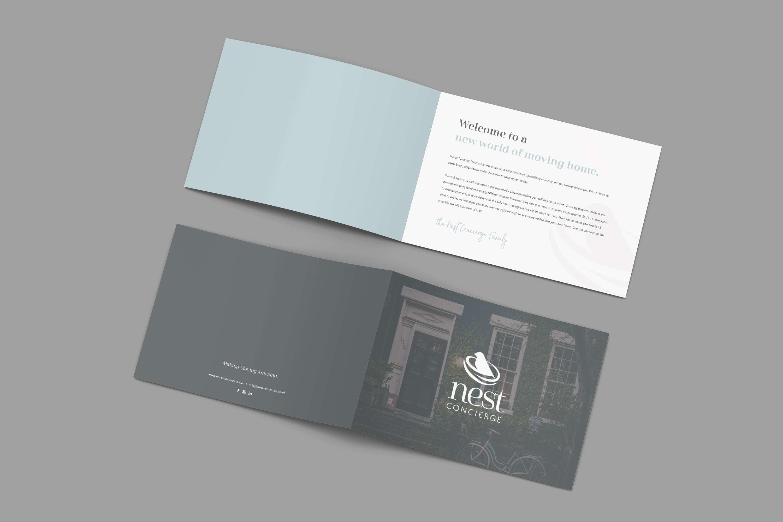 Nest Concierge A4 Landscape Booklet