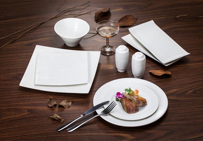 Linear Series Tableware