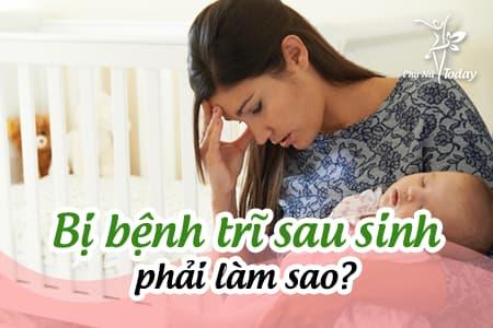 Bị bệnh trĩ sau sinh phải làm sao?