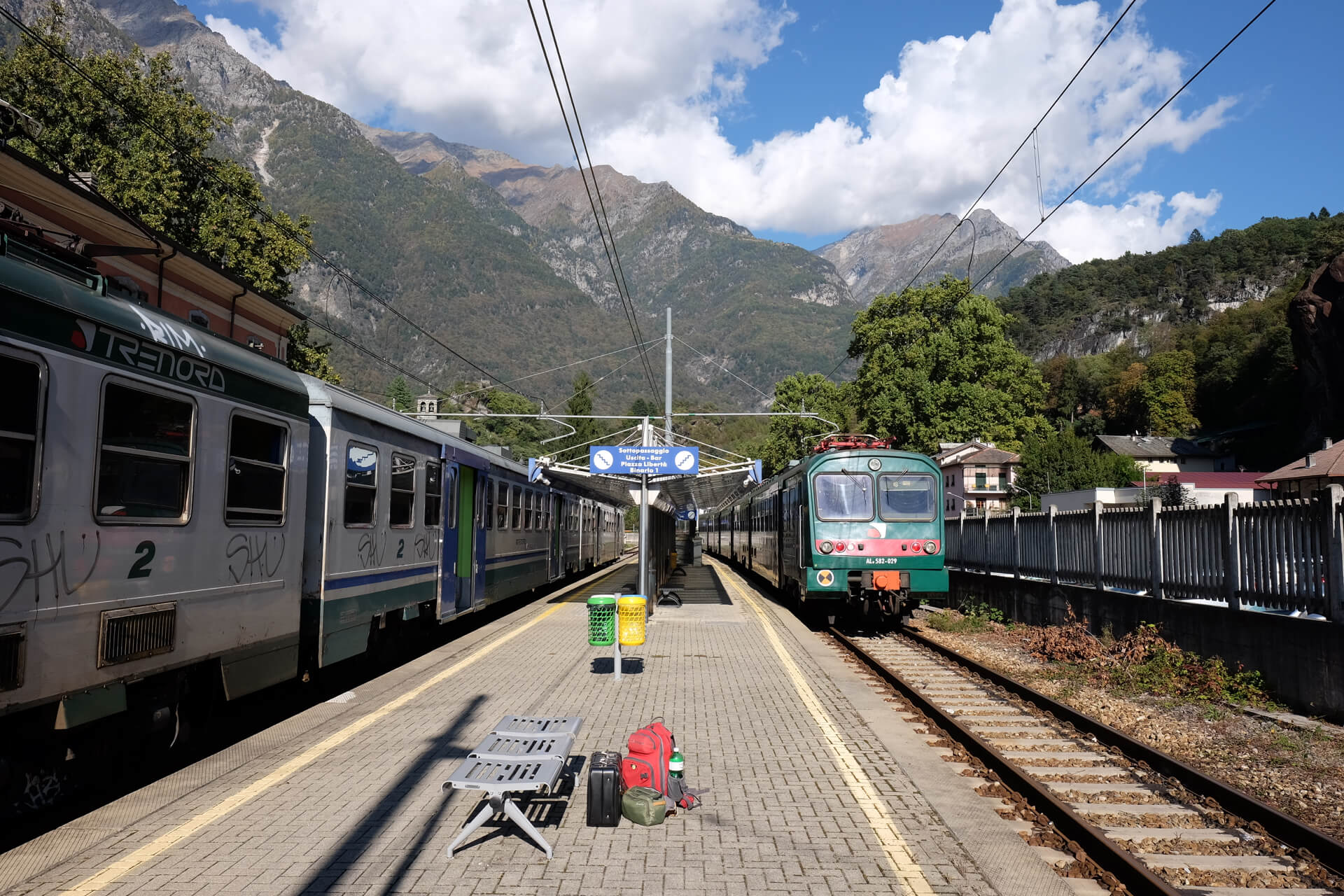 Start of my glass journey travel from Chiavenna to Murano