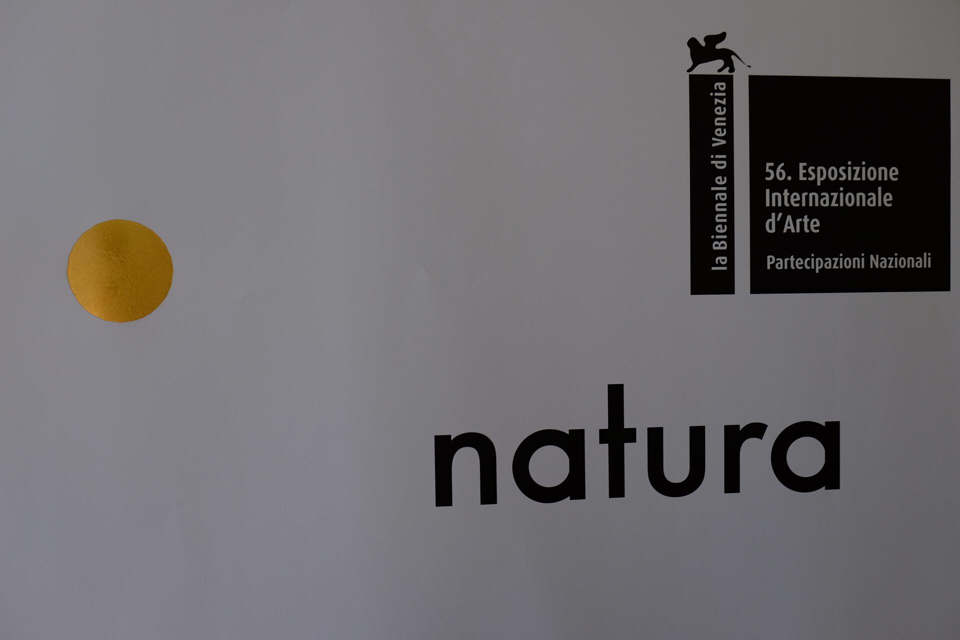 Natura Biennale d'arte, Venezia