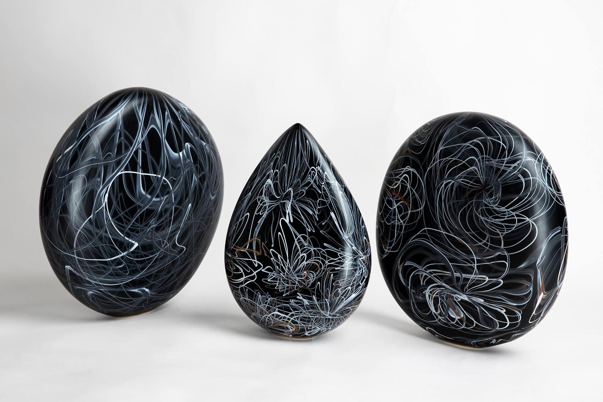 Floating Lines, Jonas Noël Niedermann, Michelangelo Foundation, Artisan, Glass craft,  Cæciliie Philipa Vibe Pedersen