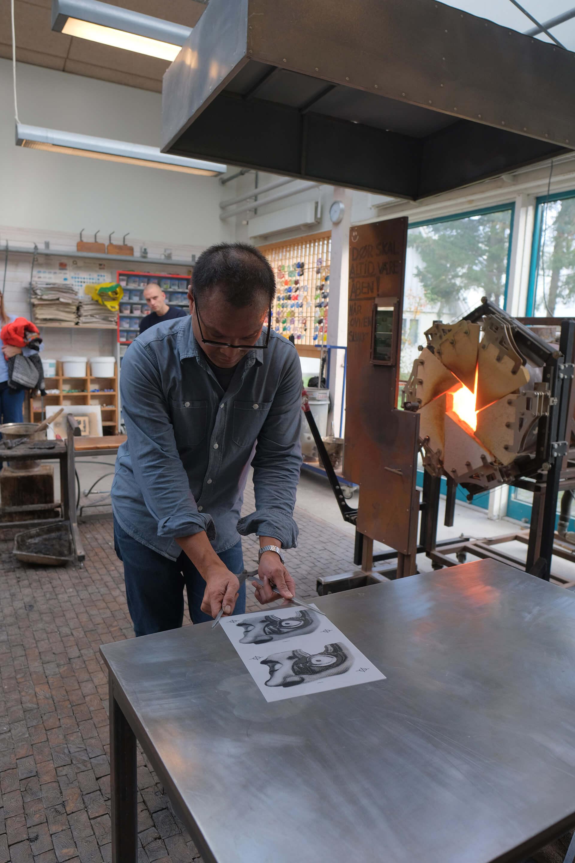 Teacher in Glass, Jeffrey Sarmiento,