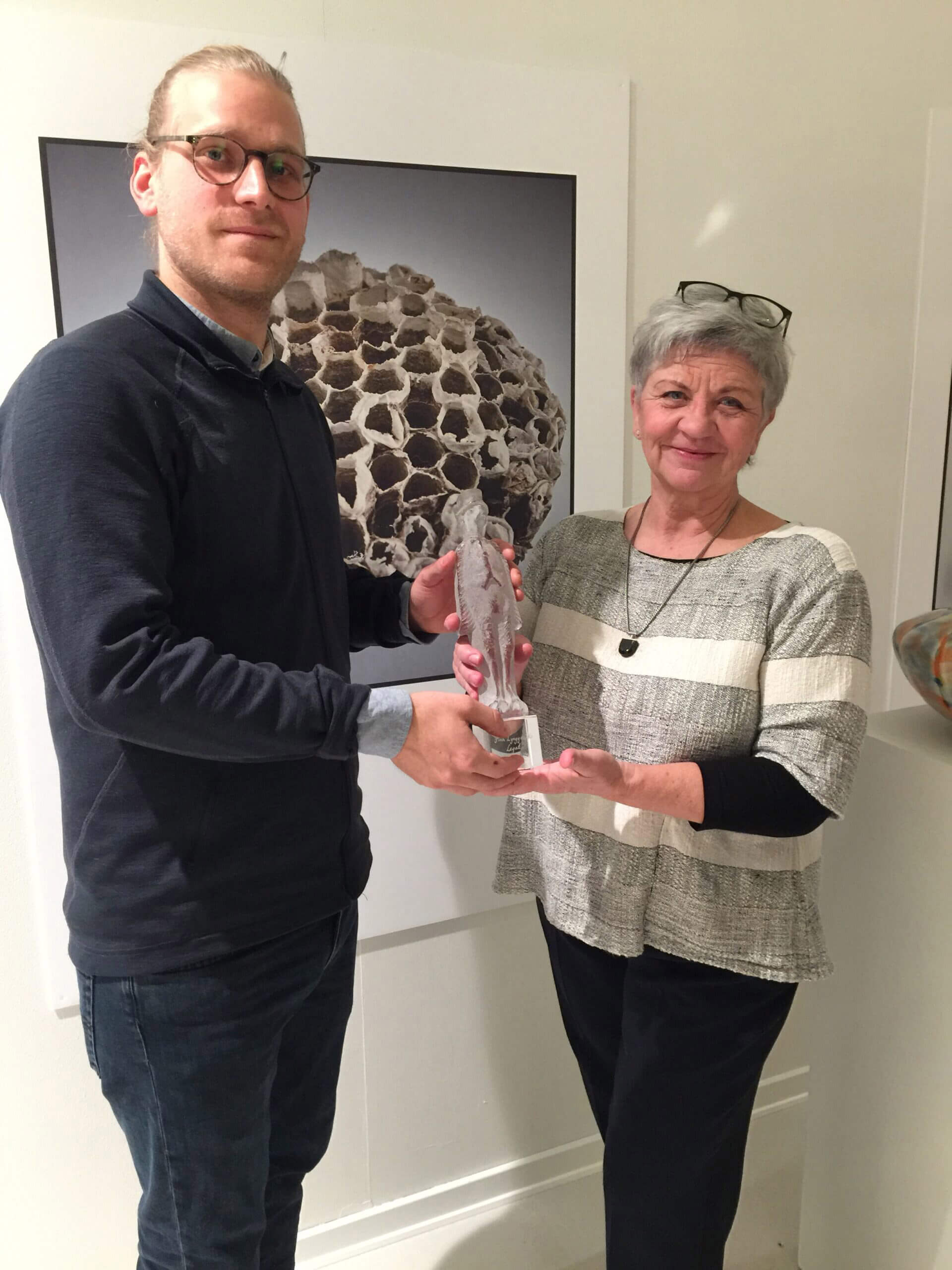 Finn Lynggaaard Legatet, Jonas Niedermann, Chai Munch, Glasmuseet Ebeltoft