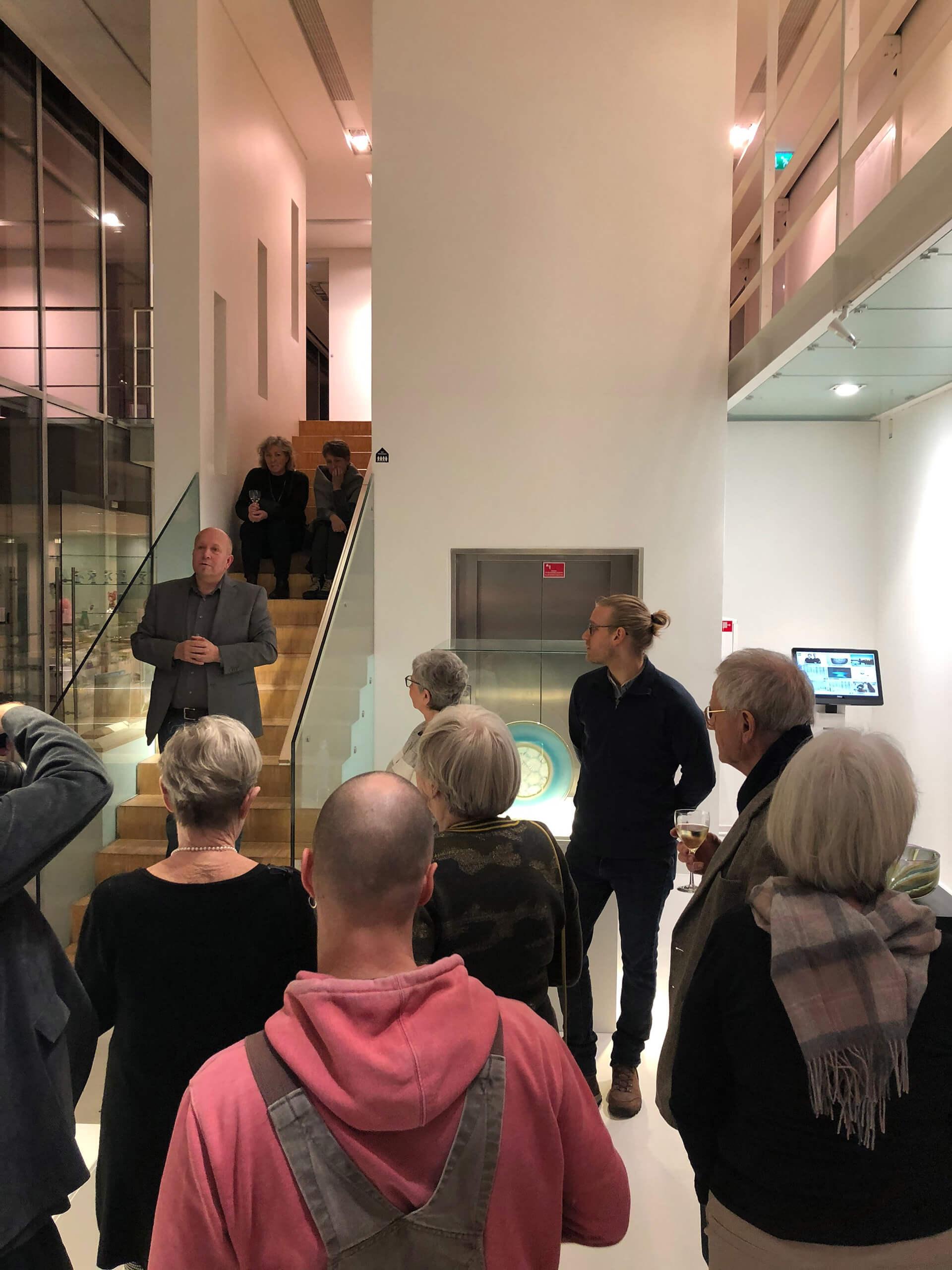 Finn Lynggaard Legat 2020, Jonas Noël Niedermann, Schweizer glaspuster, glaskunst, glasmusseet Ebeltoft