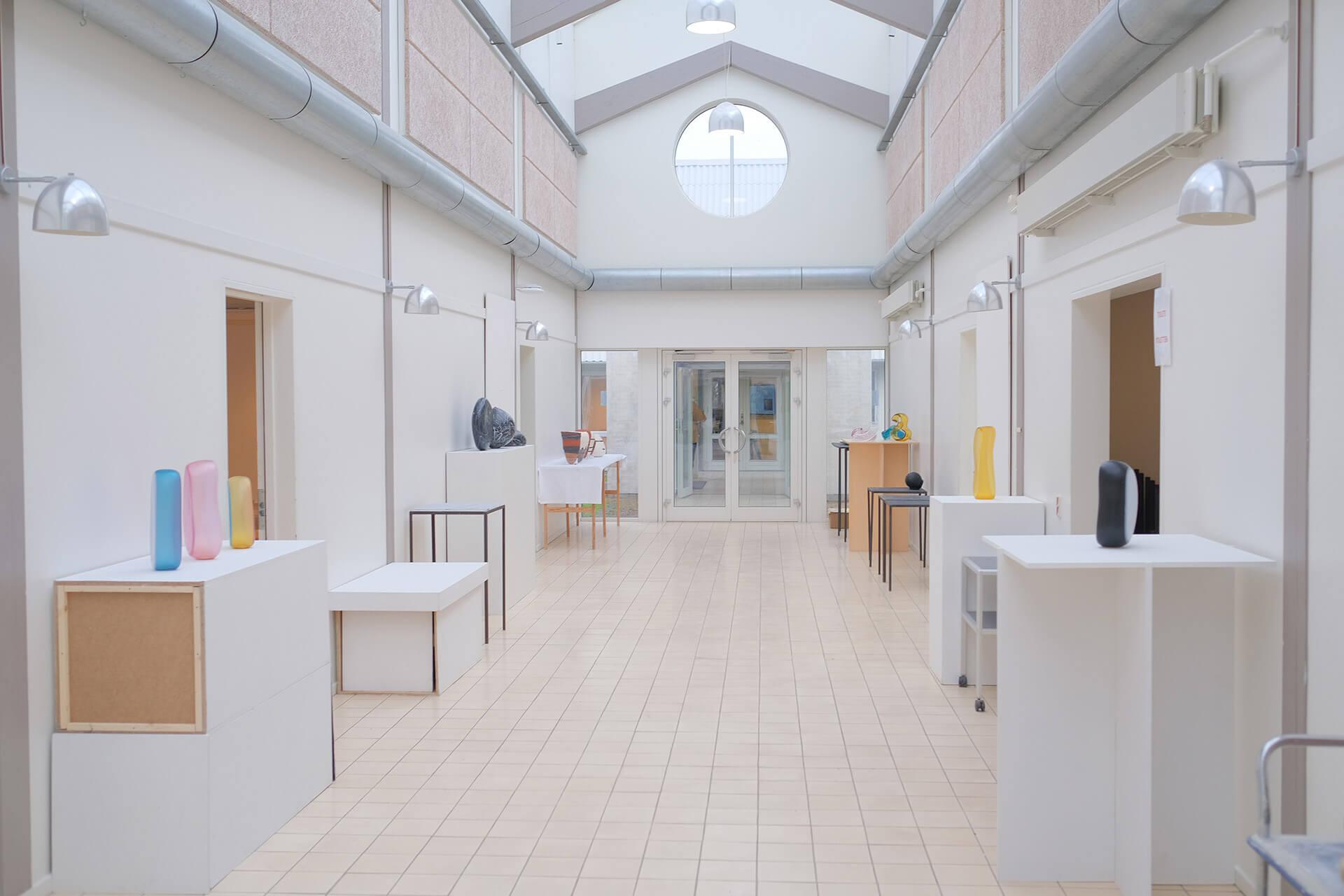 Exhibition, KADK, Bornholm, Jonas Noël Niedermann