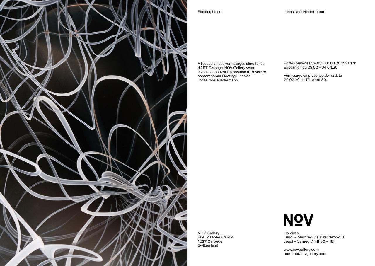 Nov Gallery, Floating Lines, Hochparterre, Architektur, Jonas Noël Niedermann, Genevé