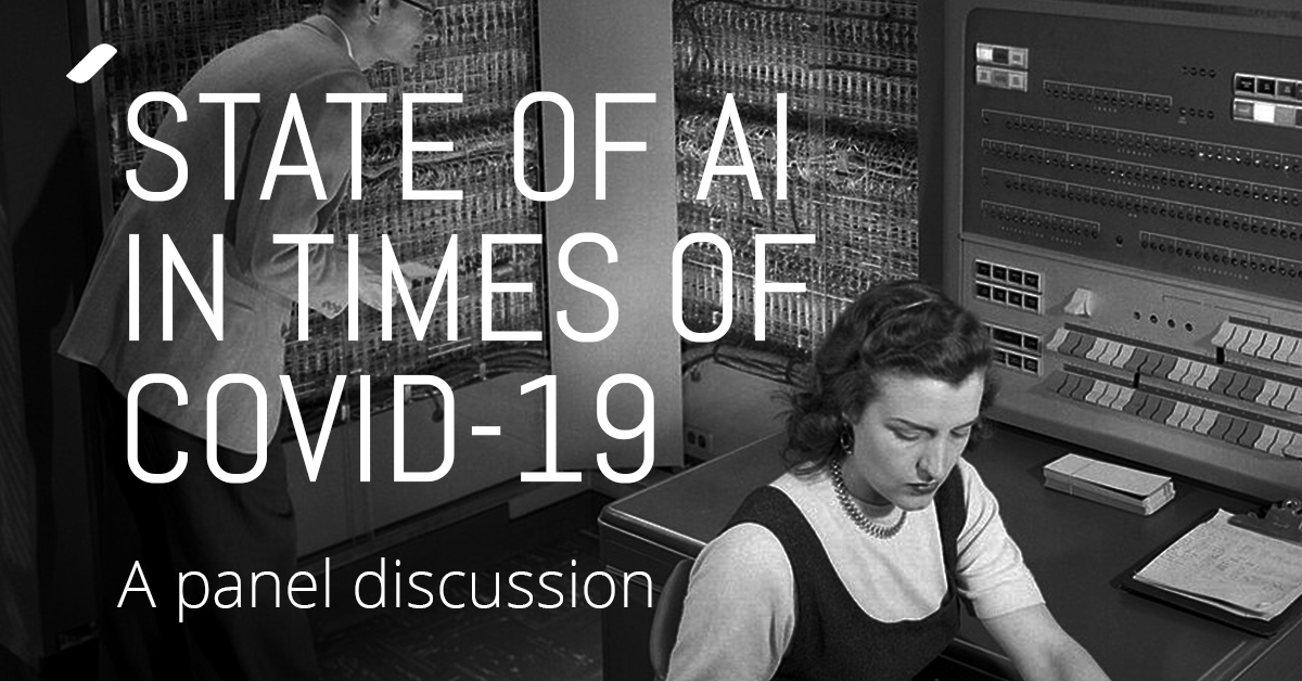 So what is the state of AI in times of COVID-19?