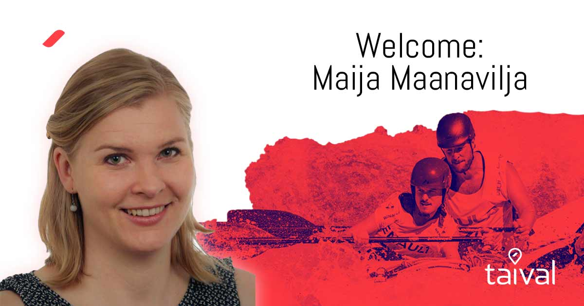 Welcome Maija to the Taival team!