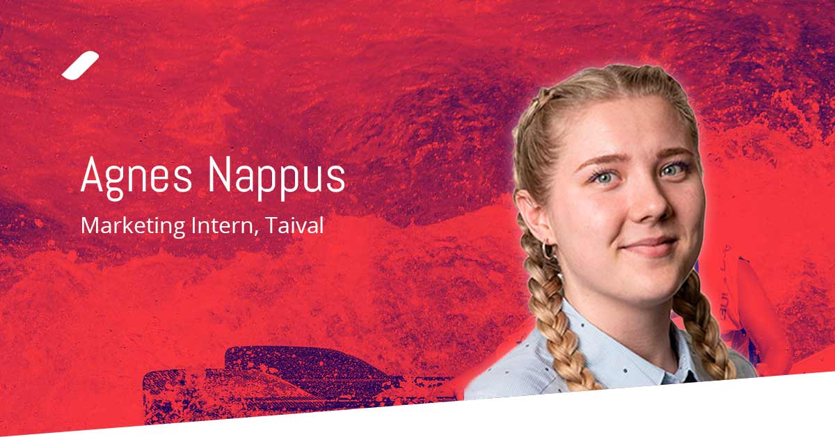 Welcome Agnes to the Taival team!