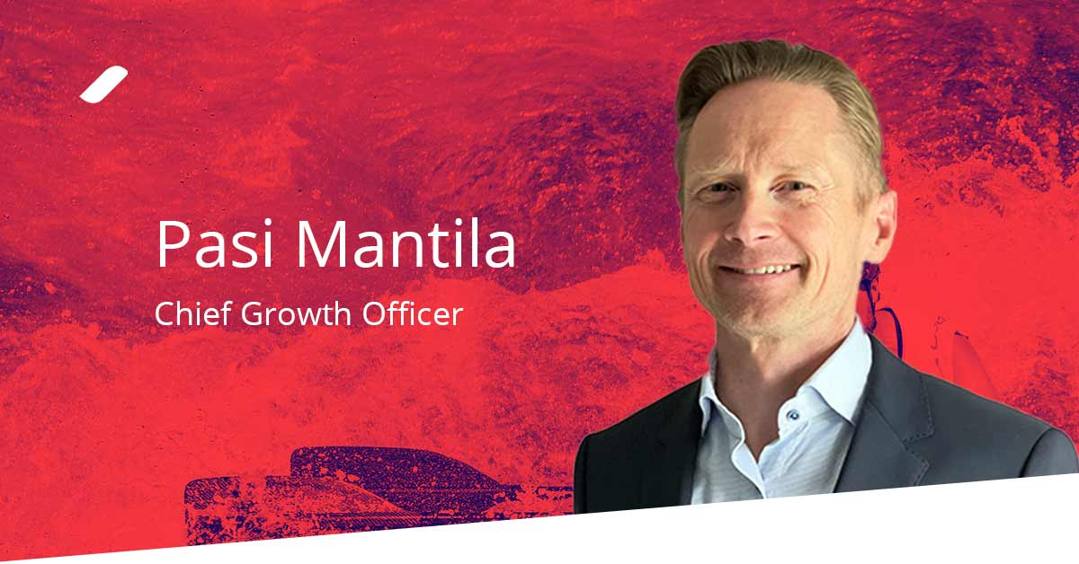 Welcome Pasi Mantila - our Chief Growth Officer - to the Taival team!